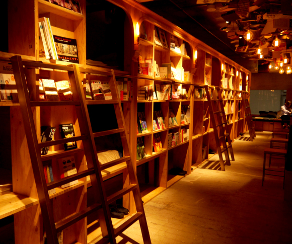 "We bunk up in ""bookstore hotel"" Book and Bed Tokyo on opening night"