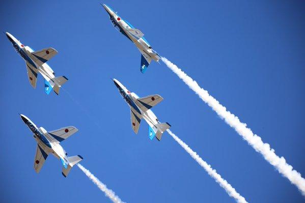 Japan's Twitter users in love Air Self-Defense Force's aerobatics team Blue Impulse