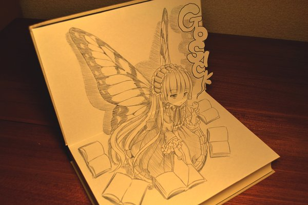 Professional manga artist creates stunning pop-up style artwork with just pencil & paper