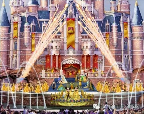 Shanghai Disneyland to feature Chinese elements and the largest castle ever, opens spring 2016
