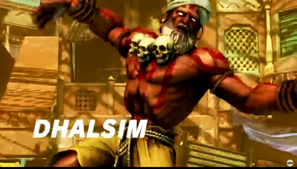 Japanese netizens unsure about Dhalism's new look in Street Fighter V