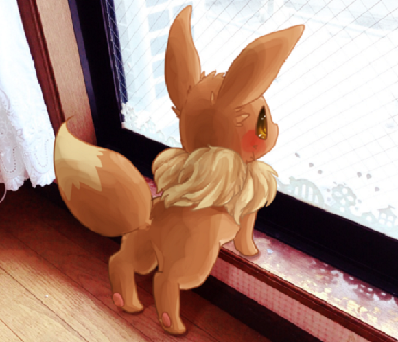 Artist shares a glimpse of a world where the Pokémon Eevee is real
