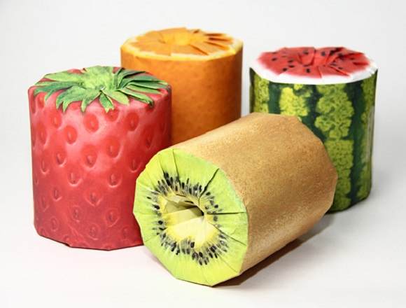 This fun and fruity toilet paper looks good enough to eat