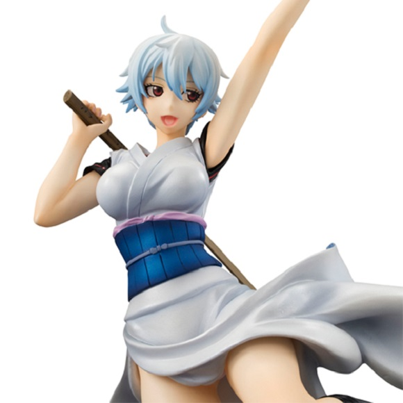 Gintoki tranforms into absolutely adorable Ginko for limited-edition Gintama figure