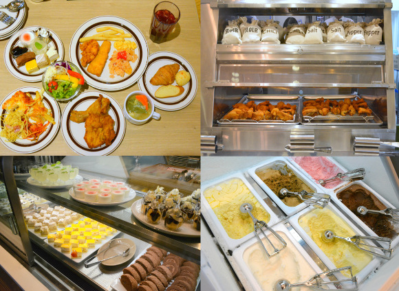 We try the sweets, soups, pastas, and fried chicken of KFC's all-you-can-eat buffet restaurant