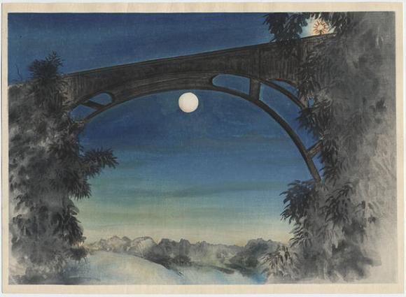Obata_Chiura-No_Series-Full_Moon_Pasadena_California-00043518-120105-F06