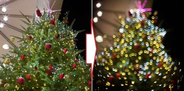 Use this simple trick to create awesome photos of holiday lights this winter!