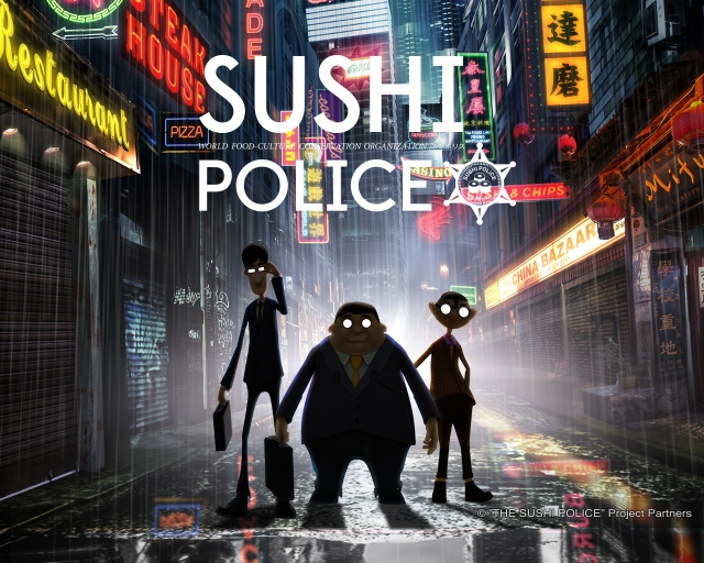 """We hear the cries of sushi"": Teaser for mysterious 3DCG anime Sushi Police released【Video】"