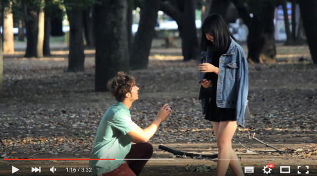"Foreigner's ""prank"" video of proposing to random Japanese girls is wrong in so many ways"