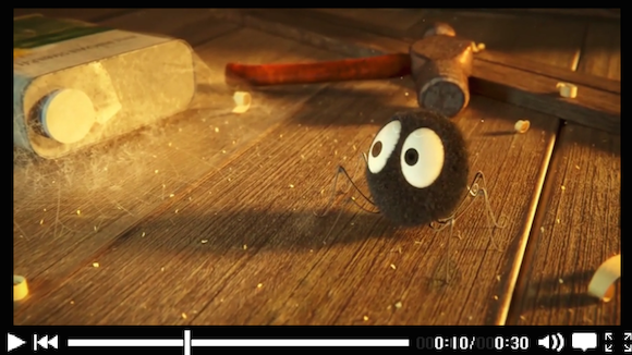 Soot sprites from Studio Ghibli's My Neighbor Totoro get a 3D CG makeover! 【Video】