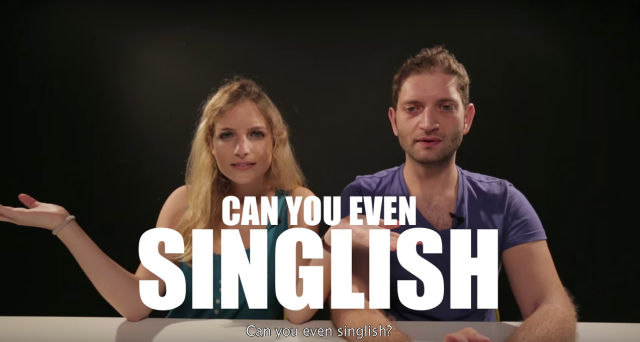 Do you understand Singlish? Test your knowledge with these videos【Video】