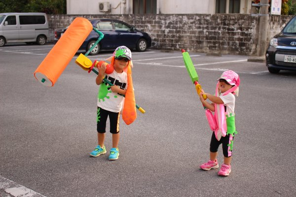 Adorable Japanese kids' homemade Splatoon costumes are ink-redible【Pics】