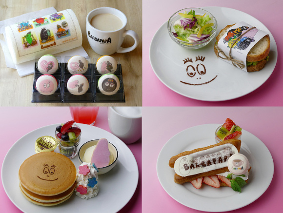 Barbapapa opens its first cafe in Japan with exclusive menu of cute characters