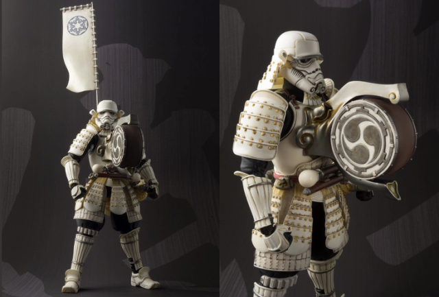 New Samurai Stormtrooper from Tamashii Nations is ready to fire up the troops for feudal battle