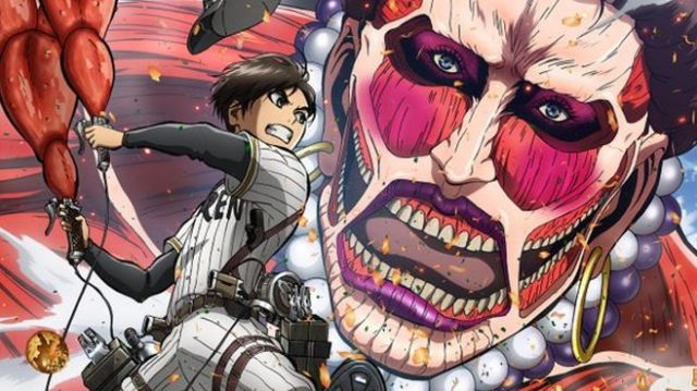 Newly released image of the giant in Attack on Titan: Kansai version is more glam than ever