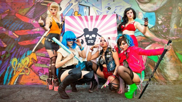 "These Sailor Moon ""Biker Gang"" cosplayers aren't taking any of your Negaverse crap!"