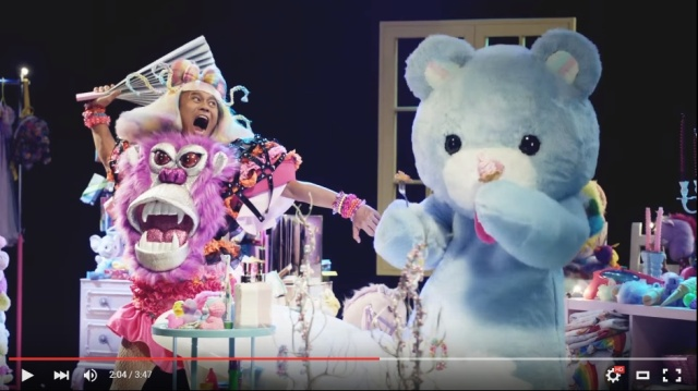 "Kyary Pamyu Pamyu's ""little sister"" Hamada Bamyu Bamyu is kinda cute and kinda gorilla【Video】"