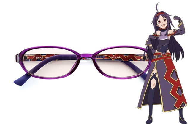 New Sword Art Online glasses cut blue light from screens, include awesome extras