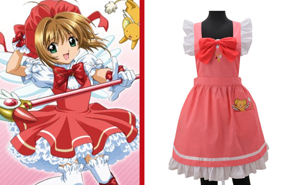 Cosplay comes to the kitchen with the Cardcaptor Sakura apron