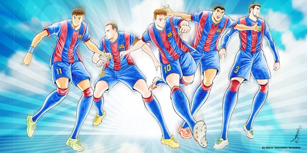 Captain Tsubasa manga author celebrates FC Barcelona's Japan visit in the best way he knows