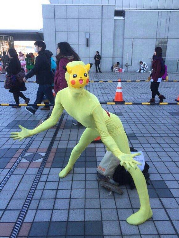 comiket pikachu