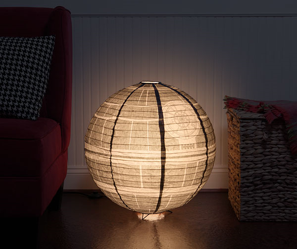 That's no moon…it's a Japanese-style Death Star lantern!
