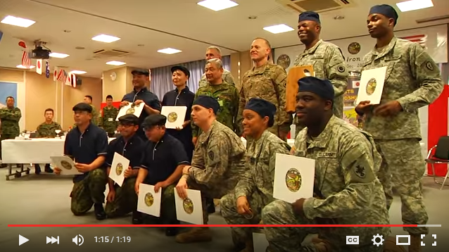 Japan Self-Defense Forces and U.S. Army face off in Iron Chef-styled cooking competition 【Video】