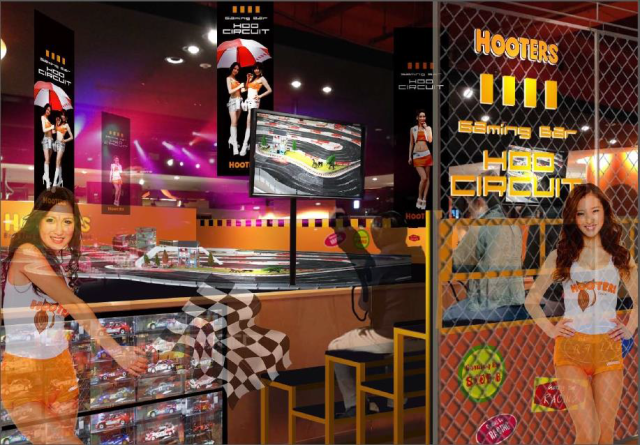 Hooters opening gaming bar in Tokyo in partnership with video game company Namco