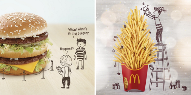 McDonald's Singapore makes clever, delicious-looking use of its Instagram account【Photos】