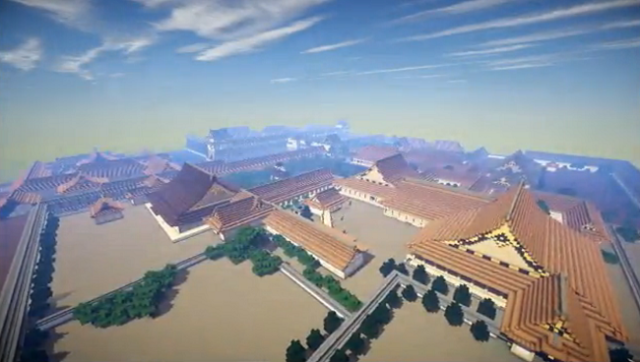 See Kyoto's Nijo Castle in its original design with this virtual tour built in Minecraft!
