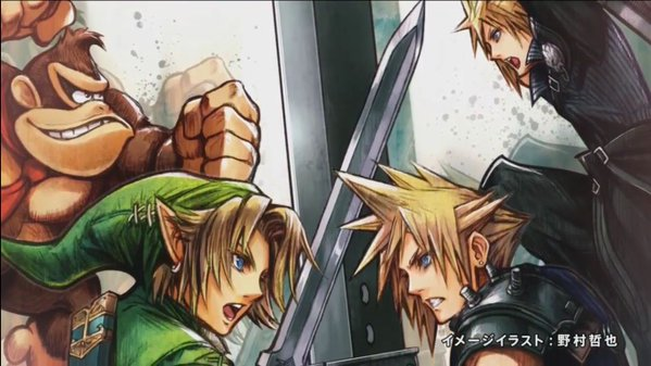 Cloud vs. Link — Final Fantasy's Tetsuya Nomura makes awesome illustration to celebrate crossover