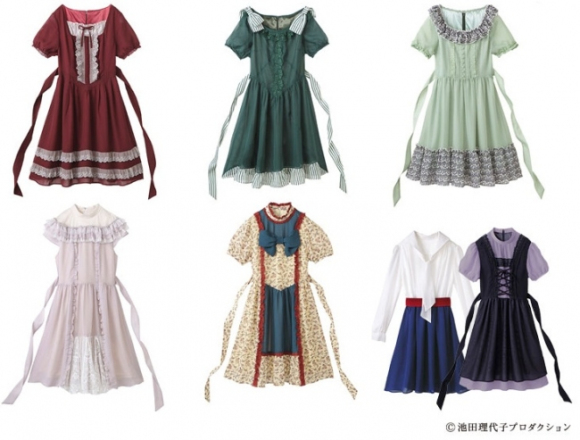 Anime-inspired dresses back, now in Rose of Versailles varieties