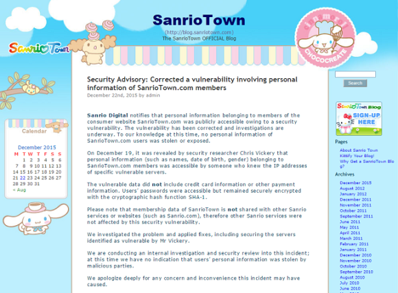 sanriot