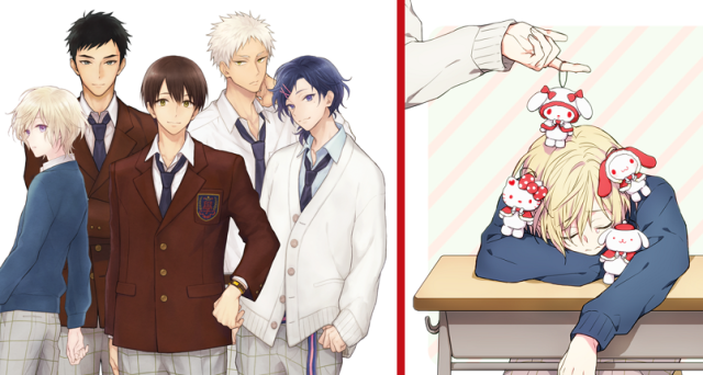 Sanrio creates characters to promote characters to promote merchandise with new Sanrio Boys group