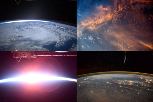 Astronaut Kimiya Yui's photos tweeted from the International Space Station are simply stunning