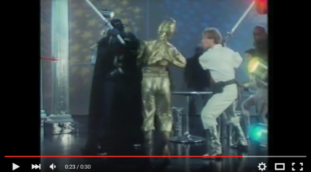 That time Japan went so Star Wars crazy that Luke and Vader made a canned tuna commercial 【Video】