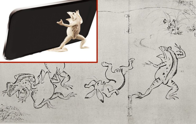 """Gachapon toys for Japan's """"first manga,"""" Scrolls of Frolicking Animals, to be available next year"""