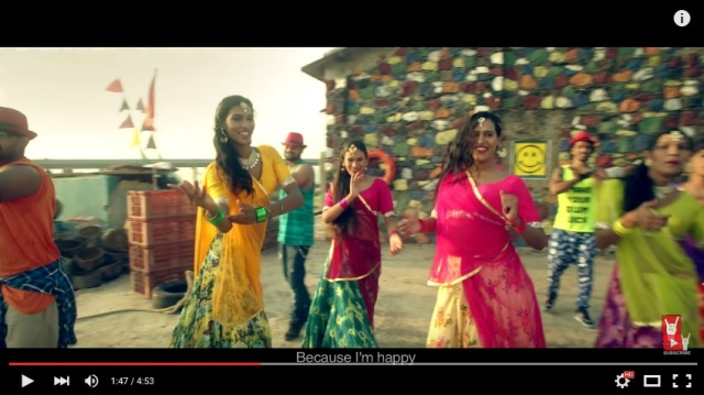 "And now, a transgender Indian version of Pharrell's ""Happy"" 【Video】"