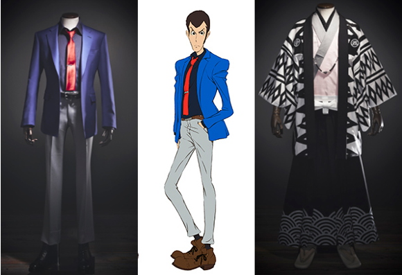 Dress like your favourite Lupin III character with suits and kimono designed by Japanese tailors
