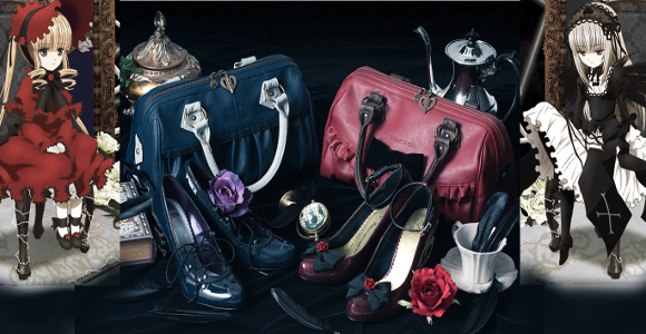 Fashion brand Super Groupies releases bags and shoes for fans of Rozen Maiden anime series