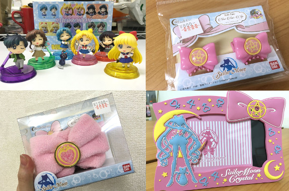 Sailor Moon fukubukuro includes accessories, stationery and figurines【2016 Lucky Bag Roundup】