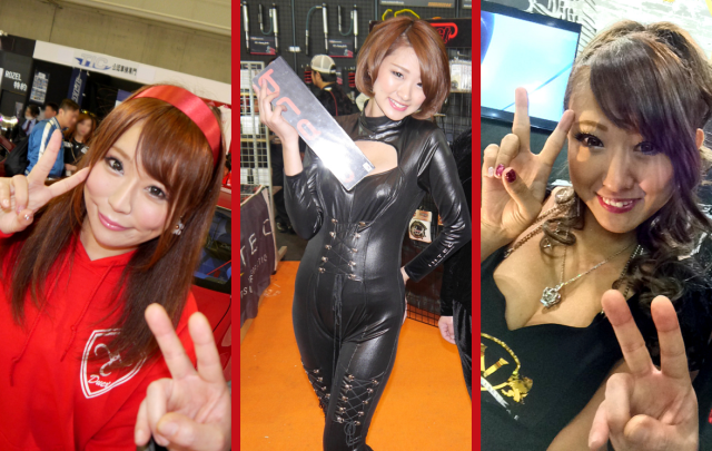 The booth girls of Tokyo Auto Salon 2016【Pics】