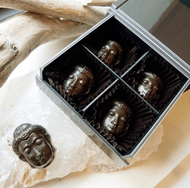 Kyoto confectioner selling hemp-infused Buddha head chocolates