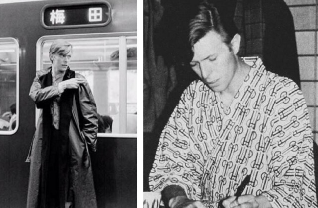 The late, great David Bowie visits Kyoto in these shots taken in the 1980s【Photos】