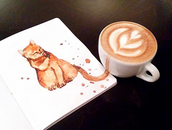 How do you take your kitty? Cute art series brings coffee drinks to life as adorable felines