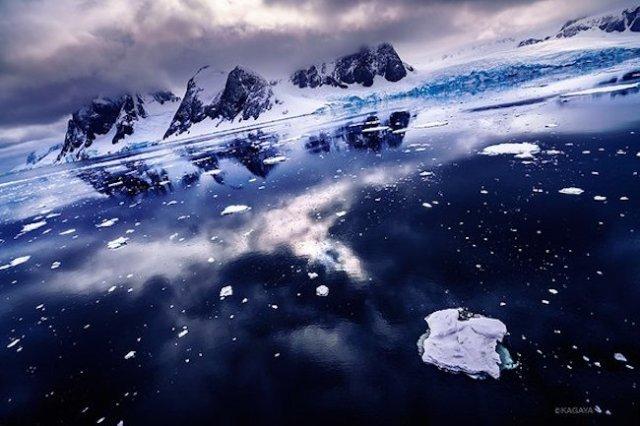Photos of Antarctica captured by Japanese photographer KAGAYA are absolutely stunning!