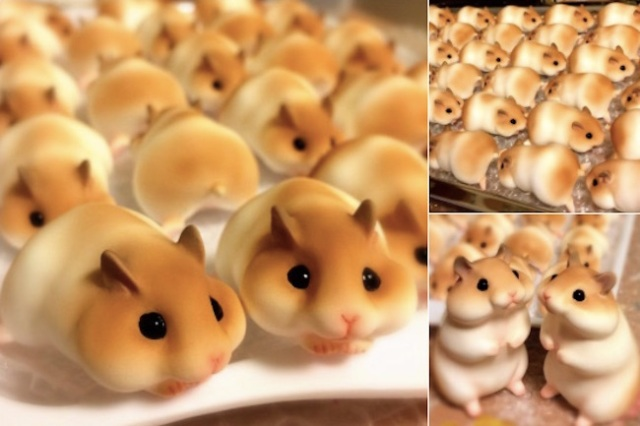 Get your cute fix for the day with these amazing hamster figures created by Yumi Nakano