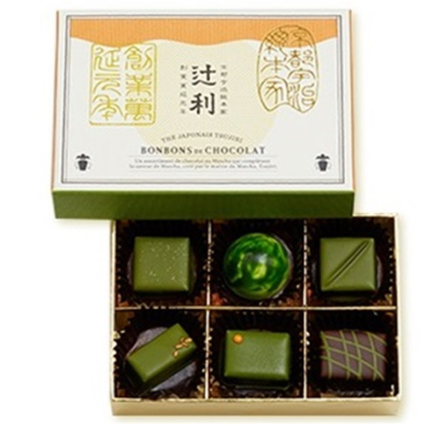 Premium green tea from Kyoto meets fine chocolate — and it's a match made in sweets heaven!
