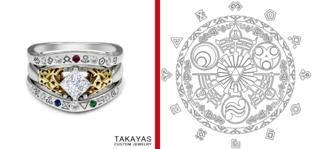 Zelda-inspired engagement ring and wedding jacket are a match made in Skyward heaven