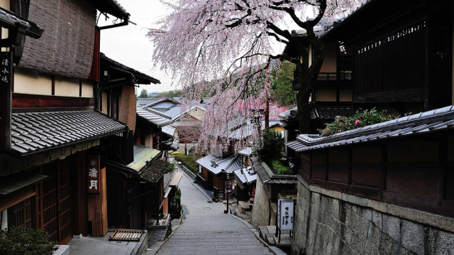Interactive online map of Kyoto lets you toggle between modern day and the 9th century